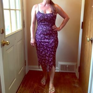 Vintage Byer Too (California) floral maxi dress